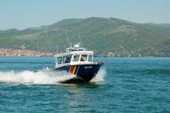 Hochgeschwindigkeitsboot Stockfotografie