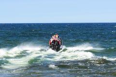 Hochgeschwindigkeitsboot Lizenzfreie Stockfotos