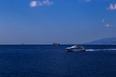 Hochgeschwindigkeitsboot Stockbild