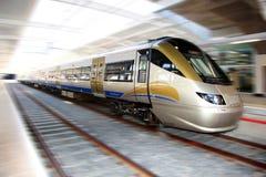 HochgeschwindigkeitsGautrain, Gauteng, Südafrika lizenzfreies stockbild