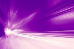 Hochgeschwindigkeitsgeschäfts- und Technologiekonzept, Antriebsbewegungsunschärfe des schnellen Autos der Beschleunigung super sc lizenzfreie stockfotografie
