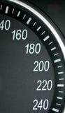 Hochgeschwindigkeitszone Stockfotos