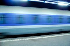 Hochgeschwindigkeitszug Lizenzfreies Stockfoto