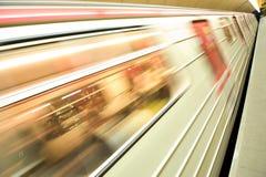 Hochgeschwindigkeitszug Stockfotografie