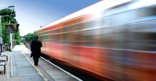 Hochgeschwindigkeitszug Lizenzfreie Stockfotografie
