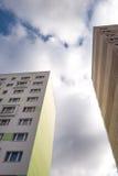 Hochhäuser Stockbild