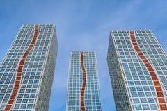 Hochhäuser in Astana Stockfoto