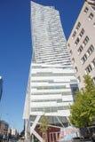 Hochhäuser im Stadtzentrum Geschäftszentrum in Warschau Hohe Gebäude Zlota 44 lizenzfreie stockfotografie