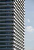 Hochhaus. Detail of a skyscrapers facade Stock Photos