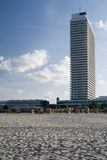 Hochhaus. Skyscraper at a german beach Stock Photography