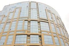 Hochhausfassade des Glases und des Betons Lizenzfreies Stockbild