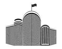 Hochhaushäuser Vektor Abbildung