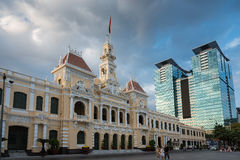 Hochiminh city hall Royalty Free Stock Images