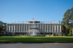 The Independence Palace in Hochiminh city, Vietnam. Stock Photo
