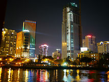 Hochiminh nightlife Royalty Free Stock Photo