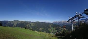 Hochkoenig, горная вершина Berchtesgadener, Австрия Стоковое Фото