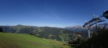 Hochkoenig, alpe di Berchtesgadener, Austria Fotografia Stock