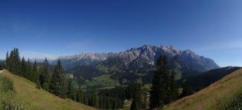 Hochkoenig, alpe di Berchtesgadener, Austria Immagini Stock Libere da Diritti