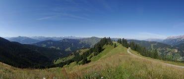 Hochkoenig, Berchtesgadener-Alp, Oostenrijk Stock Foto's