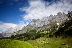 Hochkoenig Mountain Area Royalty Free Stock Image