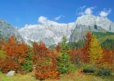 Hochkoenig Mountain,Salzburger Land,Austria Royalty Free Stock Image