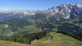 Hochkoenig, Oostenrijk Stock Afbeelding