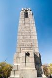 48. Hochländer Kanada-Regimentsdenkmals in Toronto lizenzfreie stockbilder