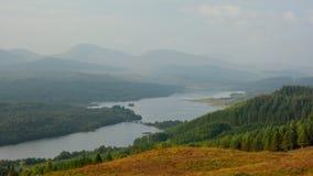 Hochländer Schottland stockfotografie