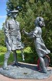 51. Hochland-Abteilungs-Kriegs-Denkmal, Nordzoll, Perth, Schottland Lizenzfreie Stockfotos