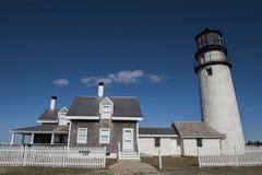 Hochland-Leuchtturm bei Cape Cod Lizenzfreie Stockbilder