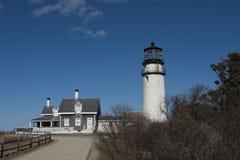 Hochland-Leuchtturm bei Cape Cod Stockfoto