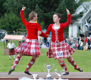 Hochland-Tänzer Stockfoto