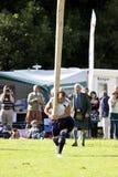 Hochlandspiele Schottland Stockfotografie