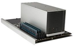 Hochleistungs-CPU-Modul mit RAM stockfoto