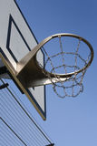 Hochleistungsbasketballkorb Stockfotografie