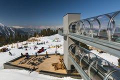 Hochoetz Mountain Station, Austria, editorial Stock Images