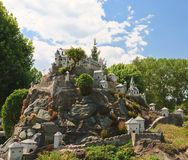 Hochosterwitz Castle, Austria.Klagenfurt. Miniature Park Stock Photos