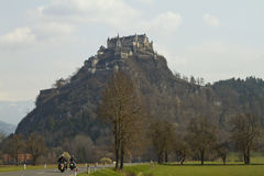 Hochosterwitz Castle on a hill Royalty Free Stock Photo