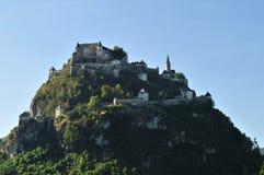Hochosterwitz Castle. Historical castle Hochosterwitz in Karnten land in Austria Royalty Free Stock Photos