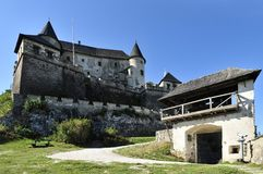 Hochosterwitz Castle. Historical landmark of Hochosterwitz castle in Karnten land - Austria Royalty Free Stock Images