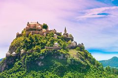 Hochosterwitz castle mountain in Austria Royalty Free Stock Image