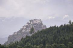 Hochosterwitz-Schloss nahe St. Veit und der Glan Stockfotografie