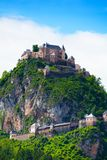 Hochosterwitz stronghold in Austria Royalty Free Stock Image