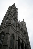 Hochragendes Notre Dame, Montreal Stockbild