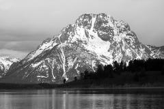 Hochragendes Teton Stockbild