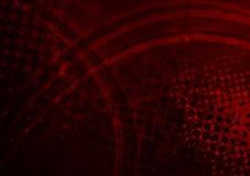 Hochroter grunge Hintergrund Lizenzfreies Stockfoto