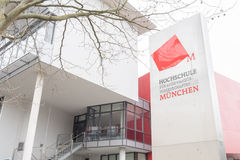 Hochschule München Royalty Free Stock Image