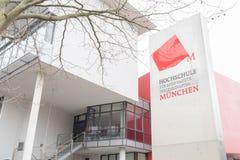 Hochschule München Royalty Free Stock Image
