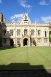 Hochschule Sidney-Sussex, Universität von Cambridge Lizenzfreies Stockfoto