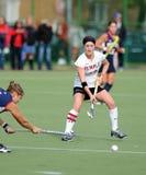 Hochschulfeld-Hockey - Damen Stockbild